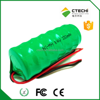 factory price nimh button cell, 280h coin batetry pack 8.4V 330mAh battery pack