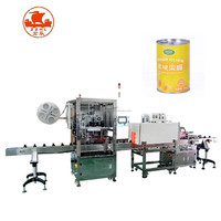 Automatic PVC shrink film sleeve label printing machine for adhesive sticker