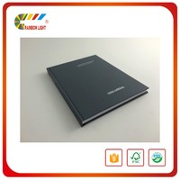 Cheap attractive short run fancy paper full color souvenir book design printing