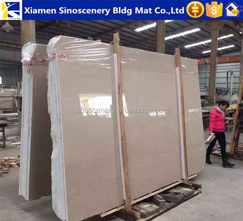 Regal beige marble slabs with very competitive price