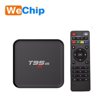 Cheapest android smart Tv Box T95M 4K Quad Core S905 android tv box 2017