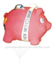 inflatable pig, inflatable helium balloon F2016