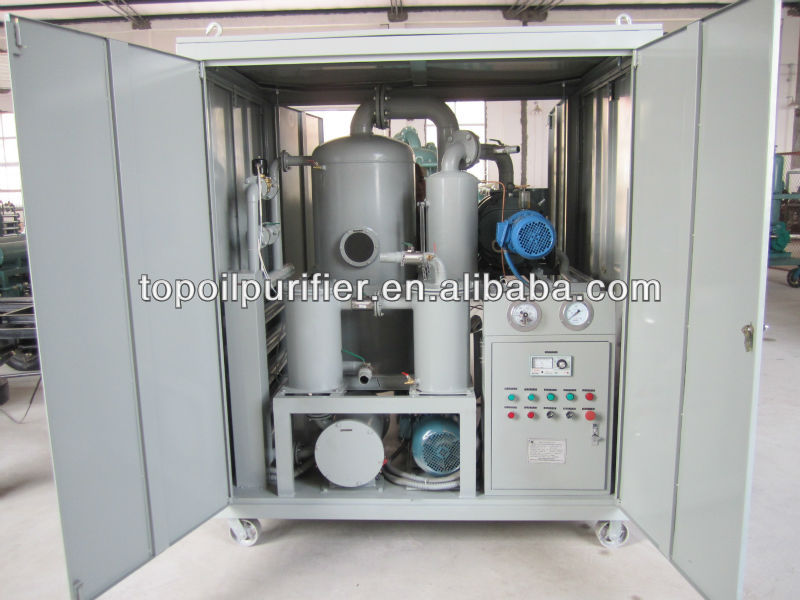 Transformer Oil Reclamation System/Mobile Oil Purifier/Waste Oil Separator