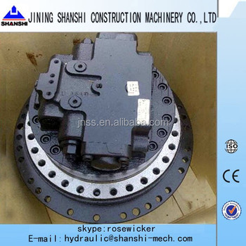 Korea jeil final drive hydraulic track motor jmv 53 jmv 76 for Hydraulic track drive motor