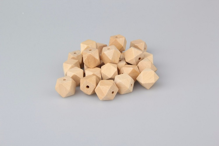 China supplier food grade silicone beads teething necklace wood