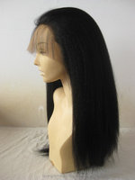 Indian human remy hair full lace wig long curved fluffy natural color charm female amorous feelings wigs accept paypal