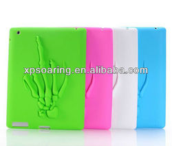 New Designed Silicone casae cover for iPad 3 iPad 4