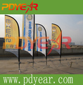 New design outdoor advertising beach flag