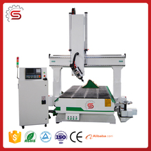 cnc router woodworking STR1325K ATC 4 Axis cnc spindle motor machine