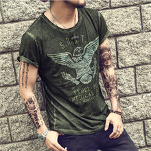 Men's T-Shirt Retro military Men's All Sizes Slim Fit Cotton Very Saints Style High Quality Casual Men Solid T-shirt Homme