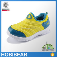 HOBIBEAR 2016 new design slip on casual mesh shoes fashion child wholesale shoe