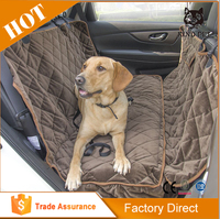 Deluxe waterproof car dog seat cover