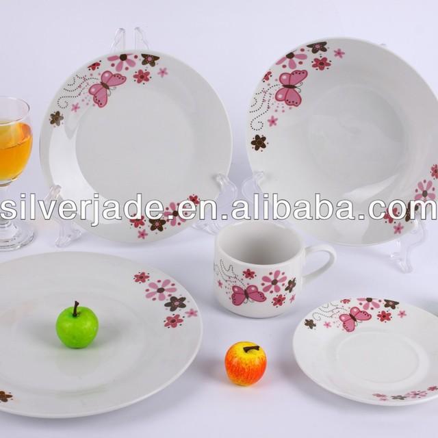 cheap ceramic 16pcs/20pcs/30pcs tableware set dinnerware