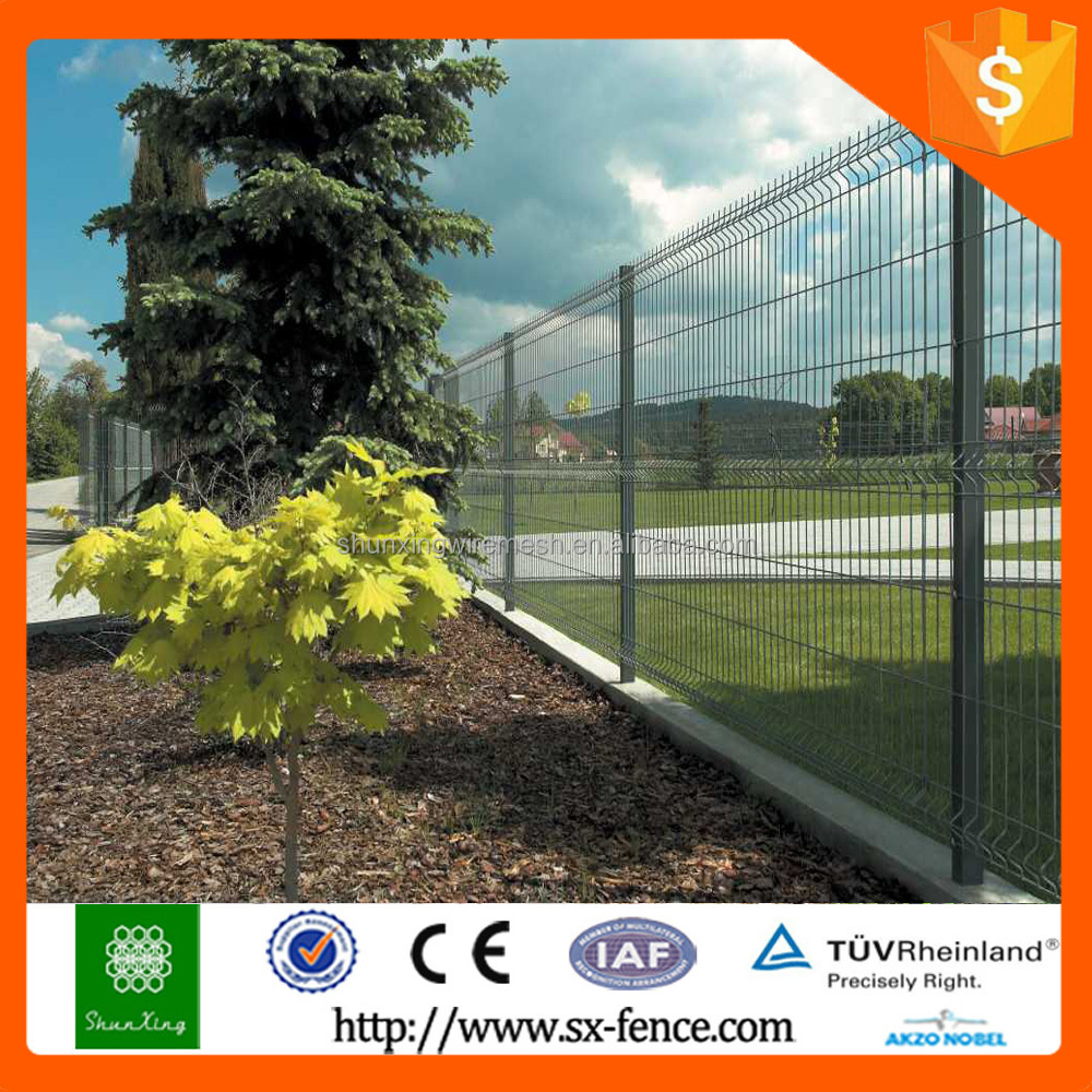 PVC coated Railway protection fence for export