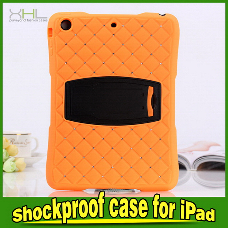 Customized manufacture for dual color for ipad mini bumper case