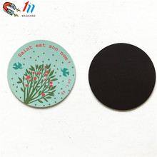 Hot sales Cheap Promotional gift Custom Flat Fridge Magnets round magnet