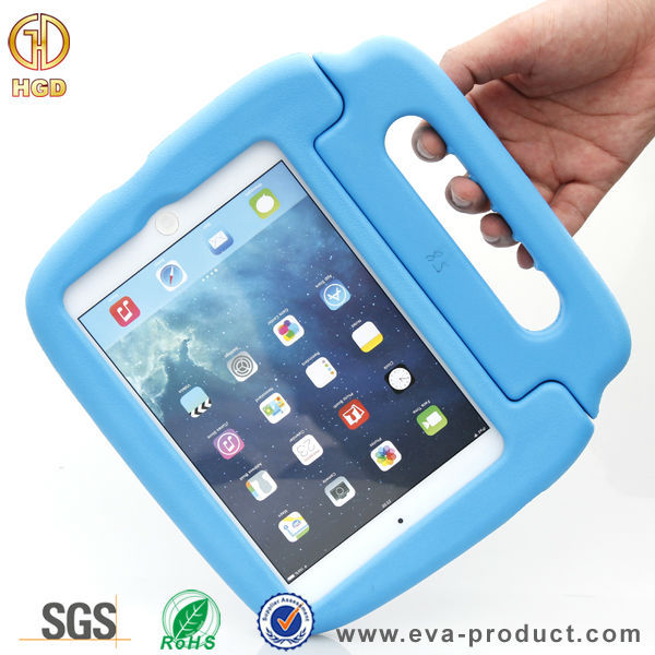 Perfect handle design silicone universal tablet case for ipad mini 2