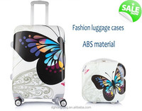 "20"" inch ABS + PC zipper trolley case bag / luggage set / Dongguan ABS luggage travel bag"