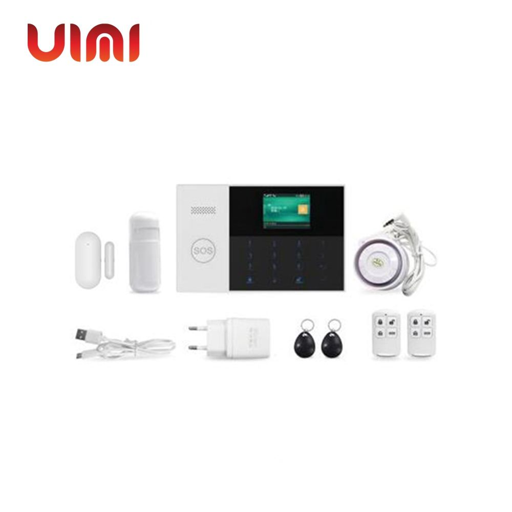 WIFI/<strong>GSM</strong>/3G/GPRS dual network home alarm system UIMI-105
