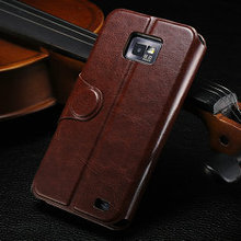 Original stand case for galaxy s2, cover for i9100, card holder case for samsung galaxy s2