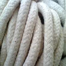 Refractory sealing twisted ceramic fiber yarn