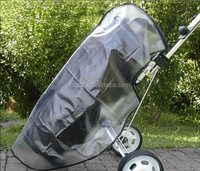 PVC material waterproof raincover for golf bag and club