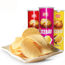Panpan brand snack food vegetable chip