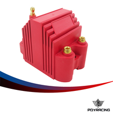 PQY RACING-Universal Blaster Ss 12V High Output External Male E-Core Ignition Coil PQY-EIC11