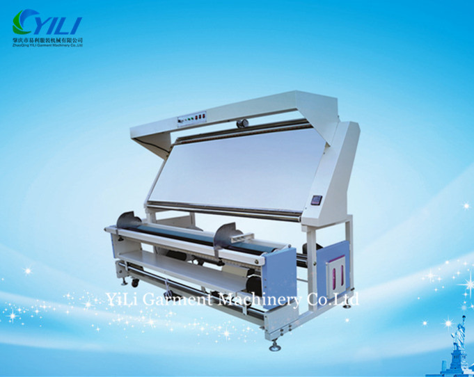 automatic edge fabric inspection and measuring machine
