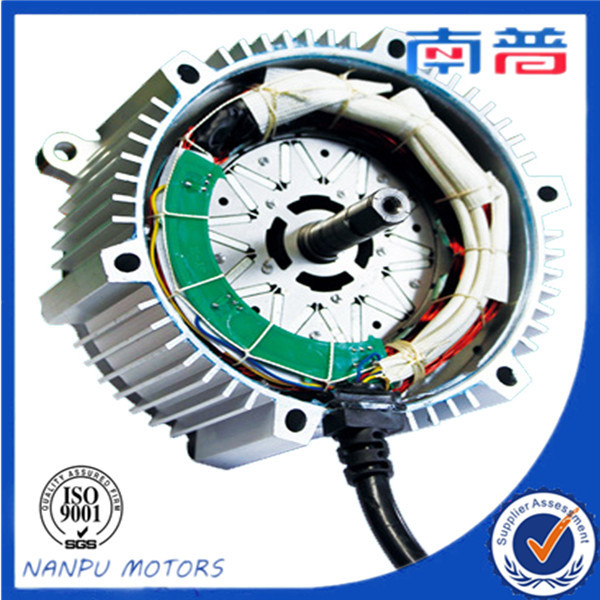 nanpu brushless dc motor for electric car engine 48v800w dc motor