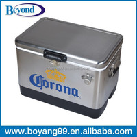 metal corona ice cooler box