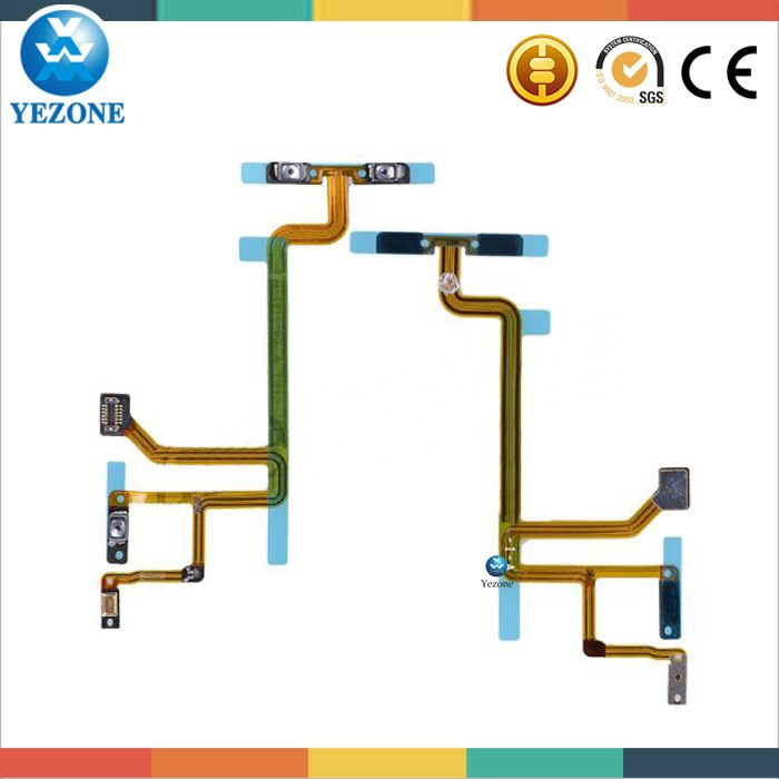 Original Switch Flex Cable For iPod Touch 6th Generation , For Ipod Parts , Cellphone Spare Parts & Accessories