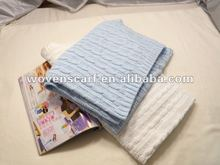 Crochet knit baby Swaddle Blanket