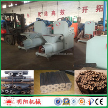 Factory price best home screw extruder biomass small wood sawdust charcoal mini briquetting press project +8615039052280