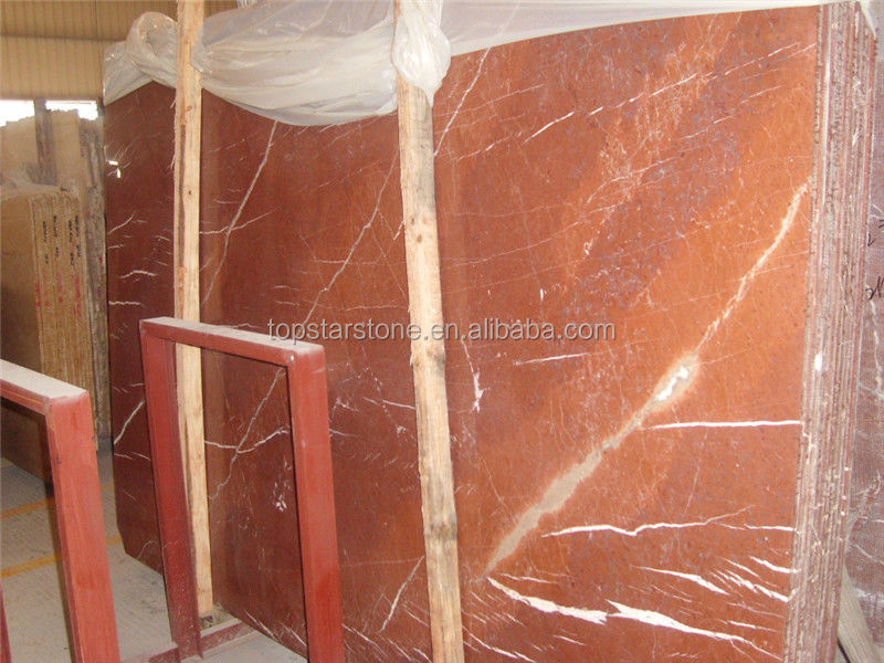 TOPSTAR Red Alicante Marble Slab