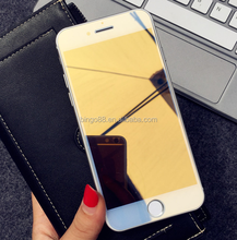 Wholesale exporter electroplating Mirror Effect Tempered Glass Screen Protector for Samsung NOTE2/3/4/5