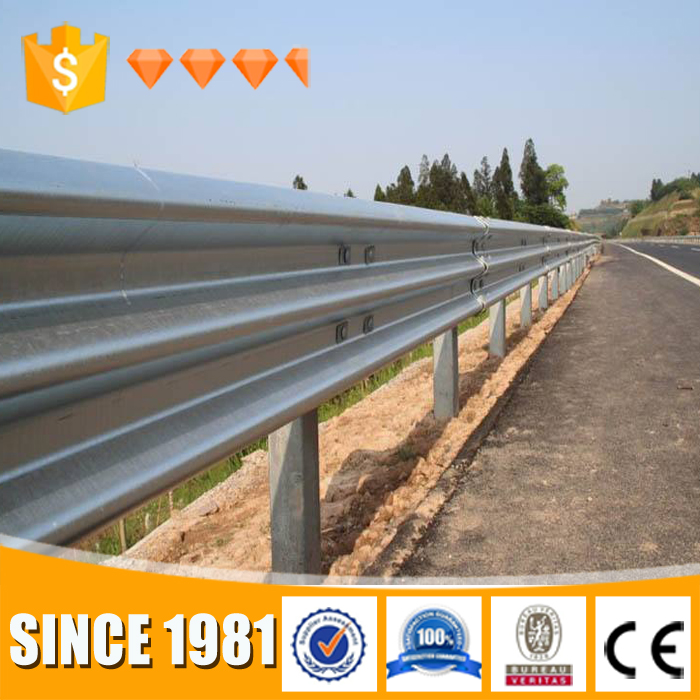 low cost safety hit dip galvanized highway guard rail