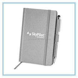 Customized Fabric Hardcover Notebook