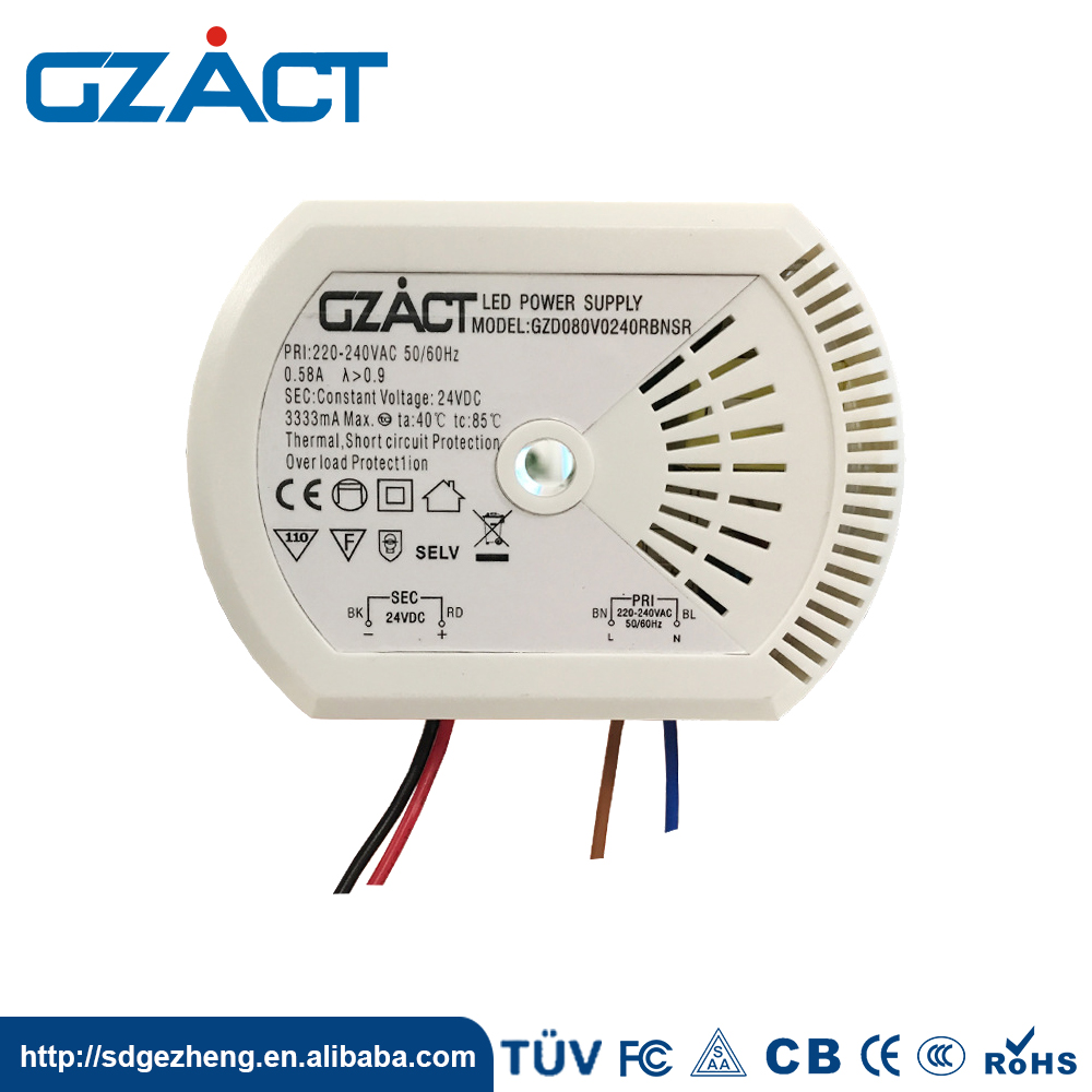 Ce Certification Stable Output 80w Constant Voltage Led Driver View
