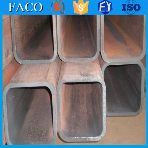 Tianjin square rectangular pipe ! punch hoe square steel tube q195 q235 welded shs and rhs tube