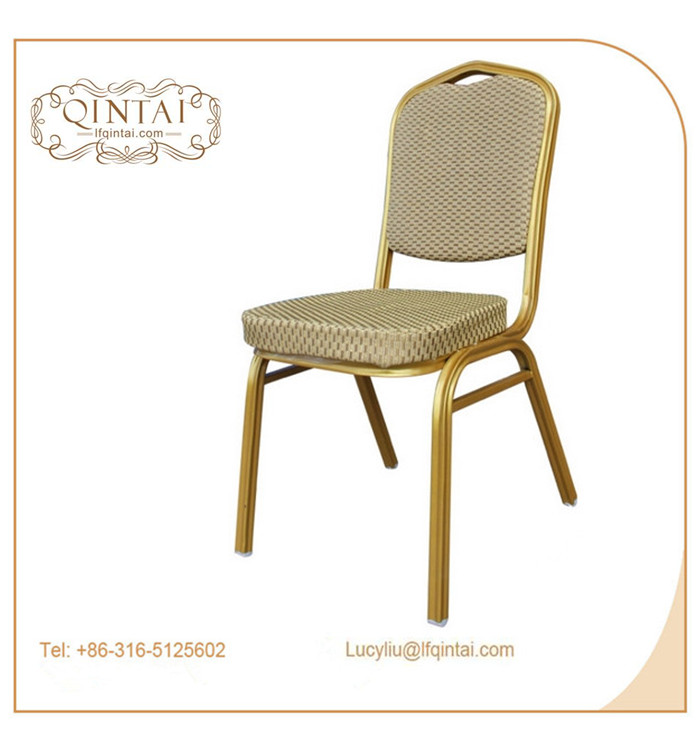 stacking hotel furniture banquet/dining/buffet/events iron chair