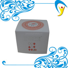 OEM high quality cosmetic white paper logo printing box packaging manufacturer in China