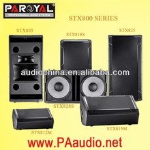 Guangzhou speaker factory STX800 Series dual 15inch STX825 Speakers