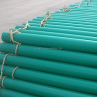 high way powder coated galvanizing steel pipe