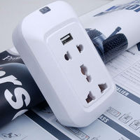 Wireless Switch Outlet with Smart Home Automation Phone App Control portable battery powered outlet