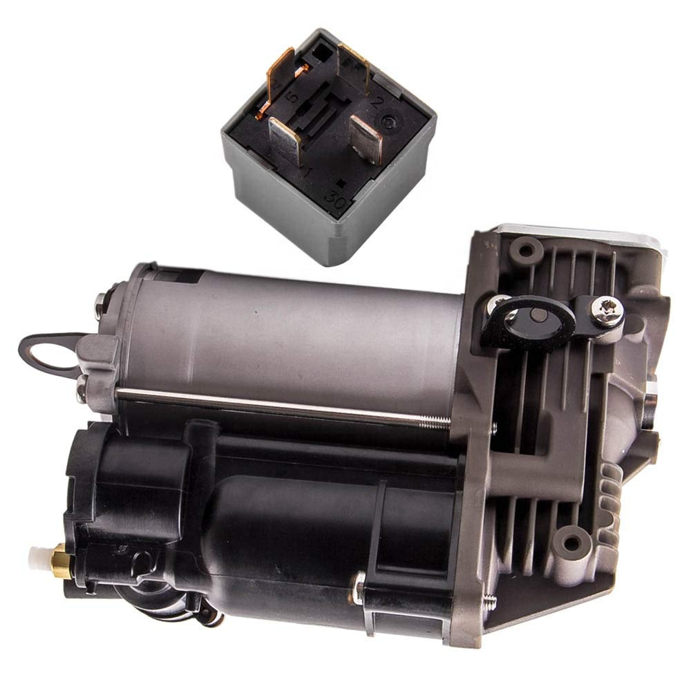 For Mercedes Benz ML320 ML350 ML450 GL350 GL450 GL550 W164 X164 Air Suspension Compressor w/Relay 1643201204