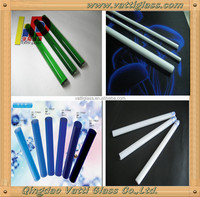 Color Borosilicate glass tube/ Rod,Clear smoking pyrex pipes borosil glass tube (p)