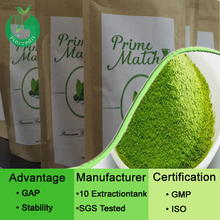 Bio green tea powder/matcha powder supplied