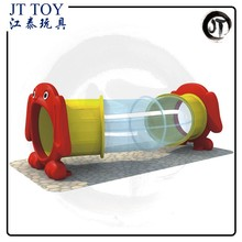 Toys for kids 2017 preschool games craweling machine JT17-5401 Kids climbing tube plastic tunnel