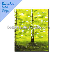 tree landscape oil painting home decor